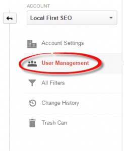 Google Analytics User Management | Carrollton TX